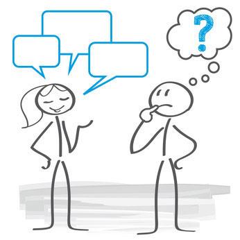 Missverständnisse in der Paarkommunikation - ein Thema in der Paartherapie